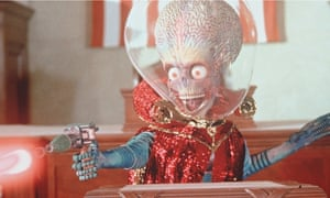 What if they were really coming? An unfriendly alien invader in Mars Attacks!