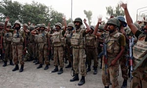Pakistan military launches ground attack on militants