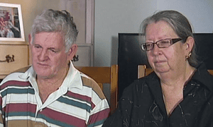 Neill and Bronwyn Dowrick, the parents of Christopher Harvard, who was killed by a drone strike in Yemen
