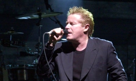 Don Henley performs with the Eagles.