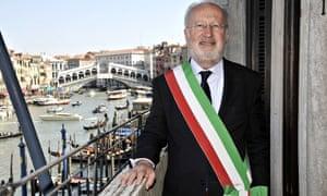 Giorgio Orsoni in Venice