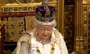 The Queen's speech, 4 June 2014.