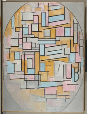 Composition in Oval with Colour Planes 2, 1914 from Mondrian and Colour at Turner Contemporary.