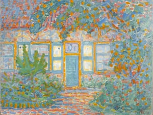 Little House in Sunlight, 1909/1910 fronm Mondrian and Colour at Turner Contemporary.