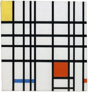 Piet Mondrian - Composition with Yellow, Blue and Red 1937