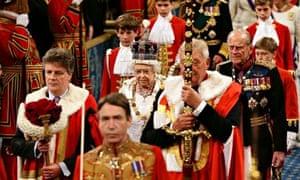 Queen's speech: Queen and Philip