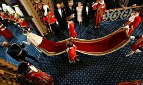 Queen's speech: train
