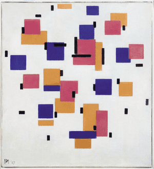 Composition in Colour B 1917
