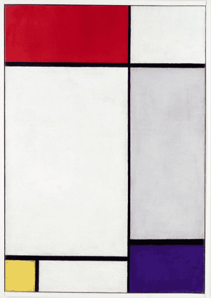Composition with Red, Yellow and Blue 1927