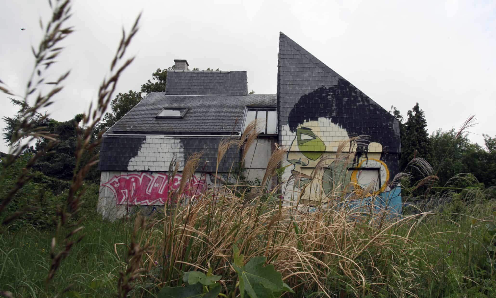 Street art takes over the ghost town of Doel – in pictures