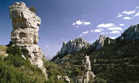 Puertos de Beceite in Aragon Puertos de Beceite in Aragon
