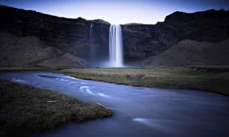Seljalandsfoss Waterfall, near Hella, Iceland
