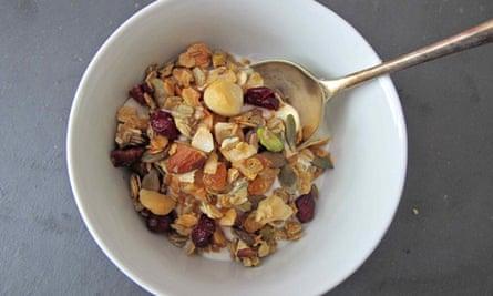 Felicity Coates' perfect granola.