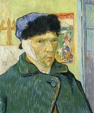 Vincent van Gogh: Self-Portrait with Bandaged Ear, 1889