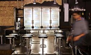 white lyan cocktail bar
