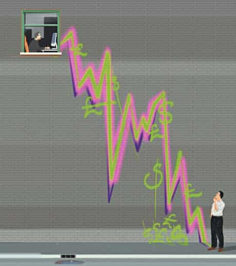 High frequency trading illustration