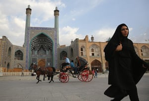 Agencies Iran Moore: A Trip Through The Heart Of Central Iran 25 Years After Khomeini's Death
