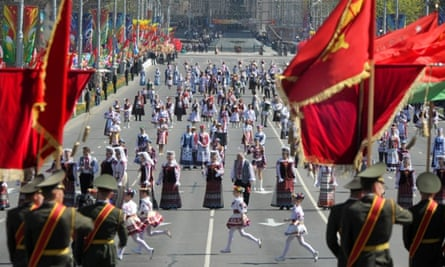 Victory Day celebrations in Minsk