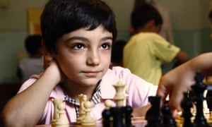 David Ayrapetyan plays a game of chess in Yerevan. Armenia is a big player in world chess.