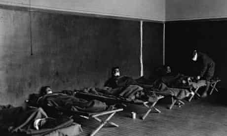 Spanish flu victims.