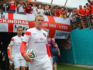 England v ecuador: Wayne Rooney