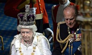 Queen's speech Elizabeth and Philip