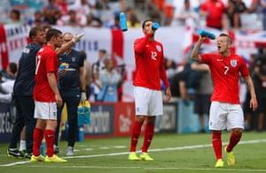 England v ecuador: James Milner, Chris Smalling and Jack Wilshere
