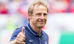 Jürgen Klinsmann, the USA coach