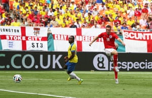 England v ecuador: Lambert scores