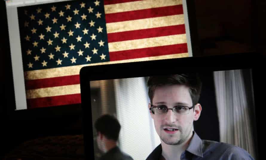 Edward Snowden, NSA surveillance.