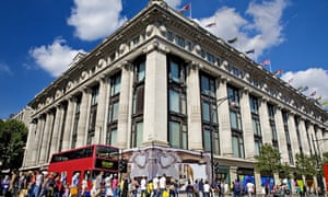 13677d1b53 Layla Daswani claims Selfridges staff refused to deliver her purchase to  her home due to the south London address. Photograph  Scott E Barbour Getty  Images