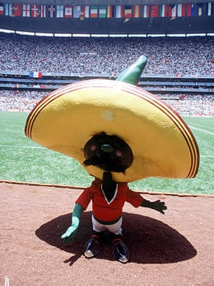 memory lane: 1986 World Cup mascot Pique