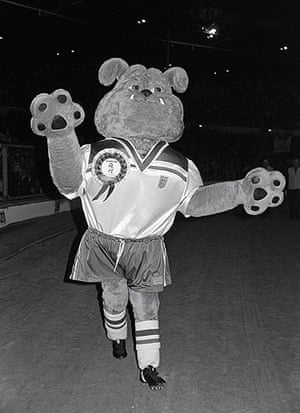 memory lane: England's mascot for the 1982 World Cup was a Bulldog called Bobby