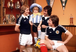 memory lane: Scottish Footballers with Gauchito