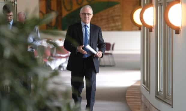 Communications minister Malcolm Turnbull in Canberra, Thursday, June 5, 2014. Mr Turnbull has been accused of destabilising Prime Minister Tony Abbott.