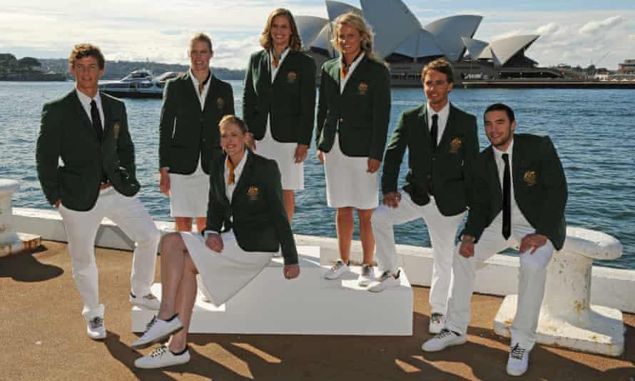 Australian Olympic Opening Ceremony uniform