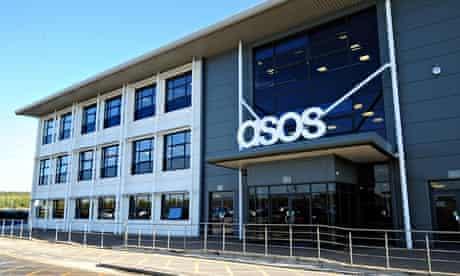 ASOS distribution centre near Barnsley, South Yorkshire
