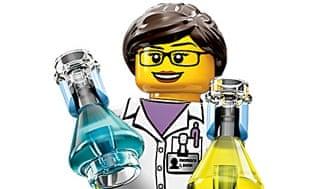 Lego scientist.