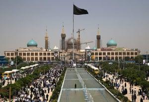 Agencies Iran Moore: outside shrine