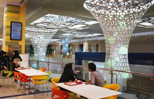 Agencies Iran Moore: couple in mall