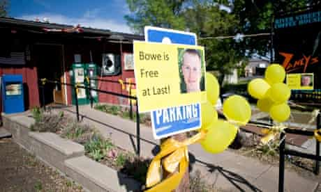 Bowe Bergdahl's release celebrated in signs, yellow ribbons and balloons in Hailey, Idaho