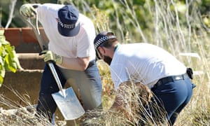 Police search land and undergrowth in the Portuguese resort