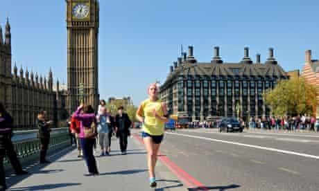 Running to work