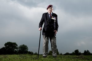 Gordon Newton, Légion d'honneur, 9th Battalion, The Parachute Regiment,Gonneville-en-Auge. Gordon was part of an advance attack in gliders which missed their target. After fighting throughout the whole campaign, he returned to Normandy to  find an exhume the bodies of parachutists killed on D-Day.