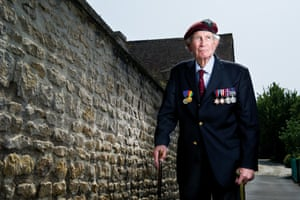 Nick Archdale, 7th Battalion, The Parachute Regiment, Le Port. Nick parachuted in but missed the drop zone. After crossing Pegasus Bridge he was part of heavy fighting and  was one of only eleven men in his company who survived.