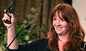 Eimear McBride receives her Baileys women's prize
