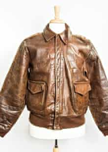 Dwight D Eisenhower's leather flight jacket