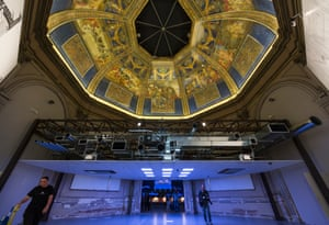 The ceiling installation