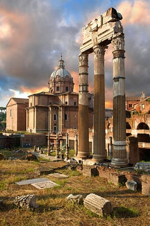 10 best : The Temple of Castor and Pollux, The Forum Rome