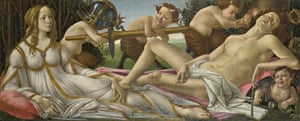 Venus and Mars, c 1485, by Sandro Botticelli